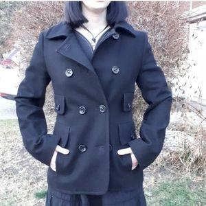 BCBG Wool Pea Coat